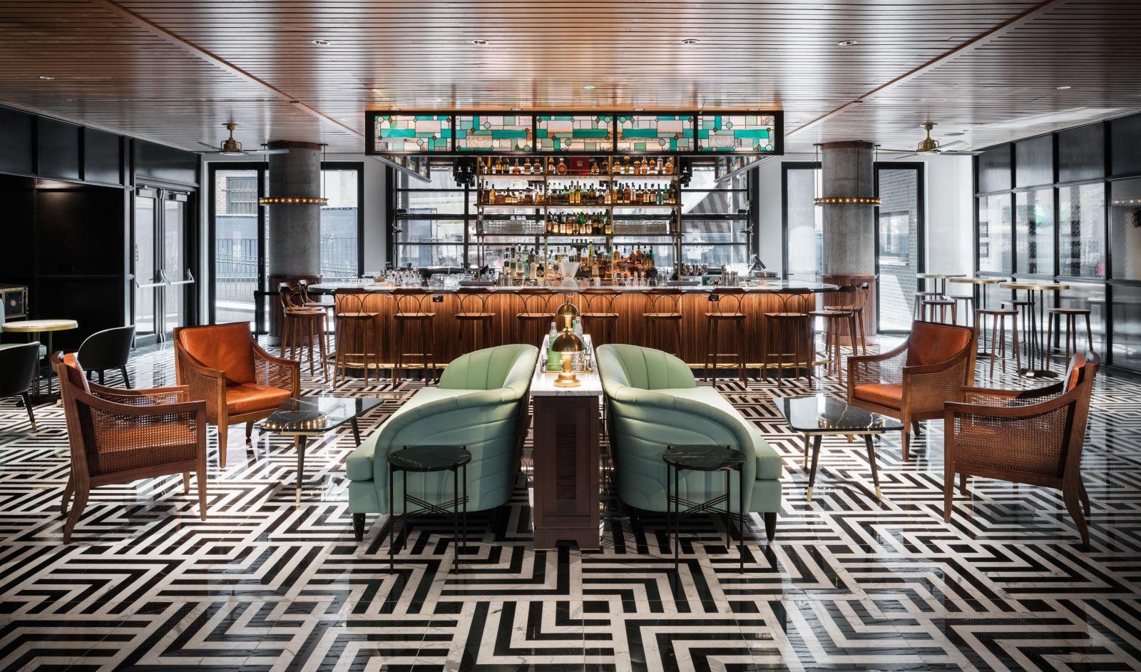 Denver cocktail bars poka lola social club the maven for Hotel club decor
